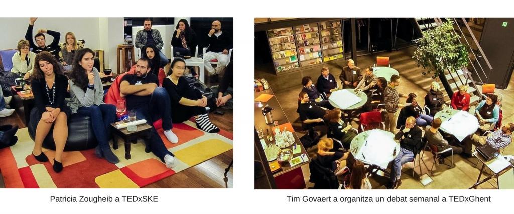 Tim Govaert a organitza un debat semanal a TEDxGhent